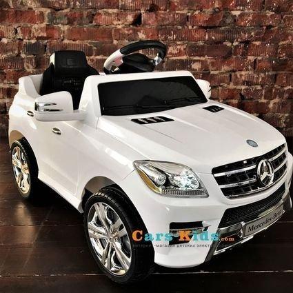 Электромобиль Mercedes-Benz ML350 QX-7996-W (пульт, музыка, свет фар)