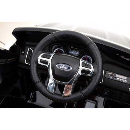 Электромобиль Ford Focus RS F777 красный (колеса резина, кресло кожа, пульт, музыка)
